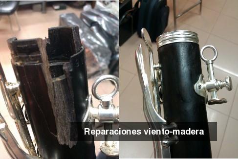 reparaciones viento madera
