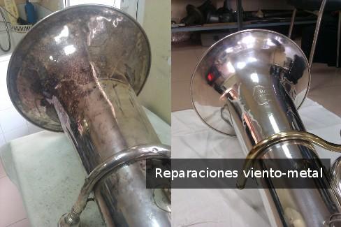 Reparaciones viento-metal