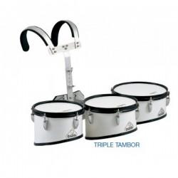 Triple tambor jinbao