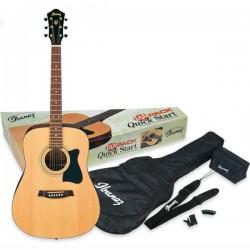 Guitarra acústica Ibanez Pack