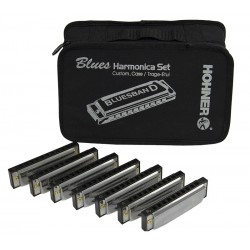 Set 7 armónicas Blues Band