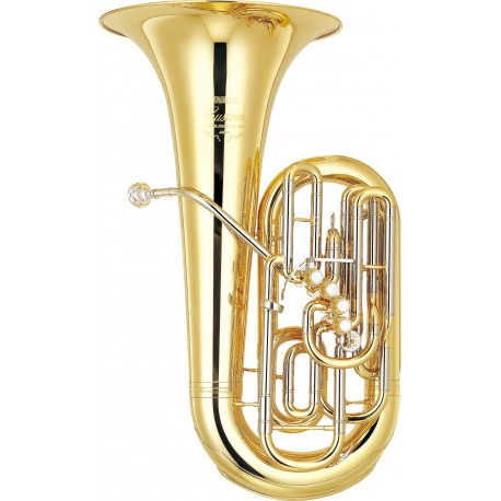 Tuba YAMAHA YCB-822 Custom Pistones